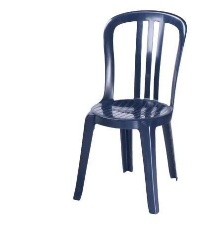 Grosfillex Sedie Da Giardino.Grosfillex Sedia Monoblocco Miami Bistrot Impilabile Baltic Blue