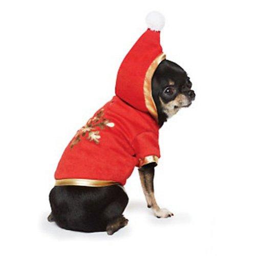 Martha Stewart Pets - Snowflake Hoodie - Dress Up Dog Costume (X-Small)