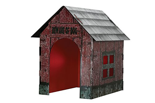 [Crazy Bonez Light & Sound Doghouse] (Halloween Props)