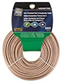 Monster Cable Category 3 Twisted Pair Wire 6 Conductor 3 Twisted Pair 100 ' Carded