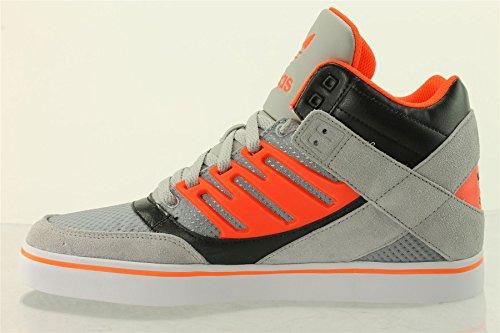 Zapatillas de Adidas HARD corto REVELATOR.M19994. GRIS y rojo. - GRIS ET ROUGE