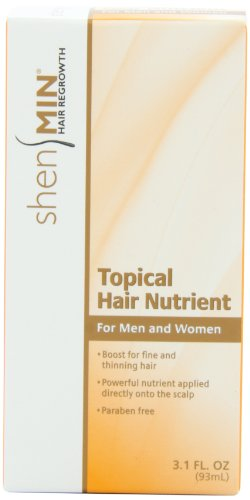 Shen Min Topical Hair Nutrient, for Thinning Hair, 3.1oz. Bottle