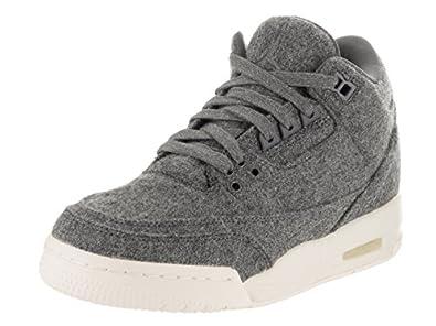 Jordan Nike Kids Air 3 Retro Wool Bg Basketball Shoe