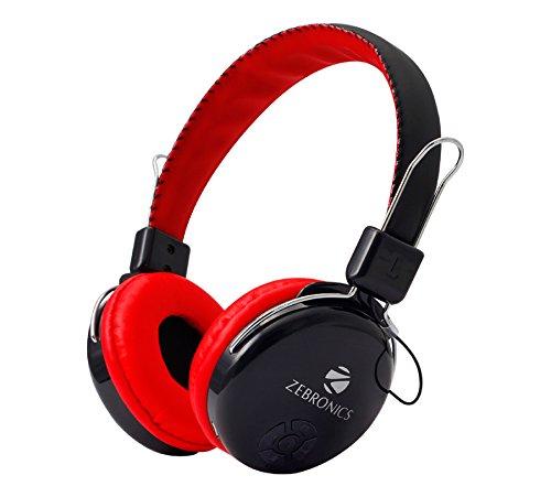 b4e78bd9a1c Zebronics Zeb-RAGA Bluetooth Headset Headphone Wireless: Amazon.in:  Electronics