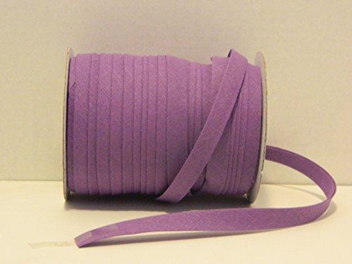 Purple  Double Fold Bias Tape 50 Yds. 1/2 Inch