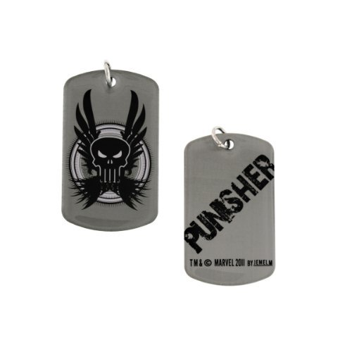 Punisher Dog Tag Necklace by Marvel