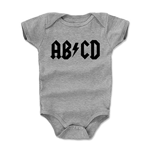 Future Rock Star Baby Clothes, Onesie, Creeper, Bodysuit - ABCD (Heather Gray, 3-6 Months)