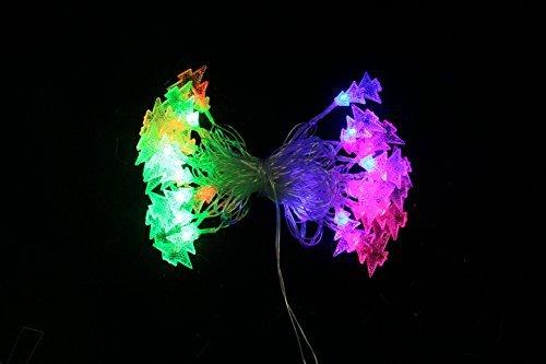Nene luci di natale impermeabile batterie box led string l albero