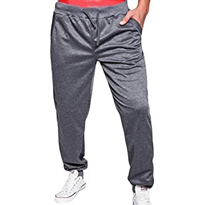 Hot Pandapang Men's Casual Sport Harem Pocket Drawstring Jogger Sweatpants free shipping