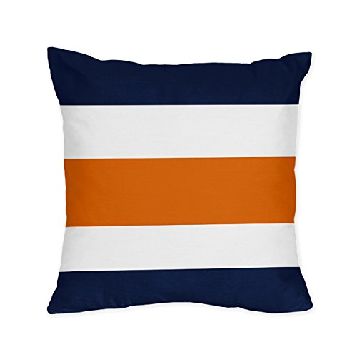 Sweet Jojo Designs 4 Piece Navy Sheets Pillowcases