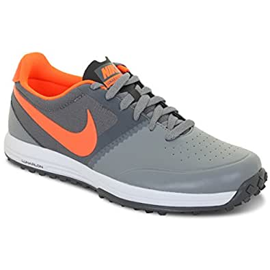 Nike Lunar Mont Royal Men's Golf Shoes, Grey/Crimson, 10.5 Medium