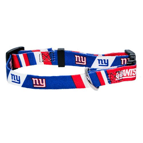 Hunter MFG New York Giants Dog Collar, Extra Small