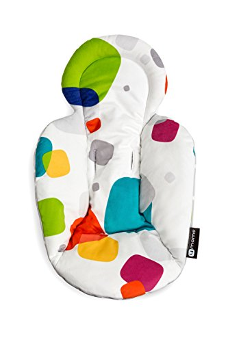 4moms, Infant Seat and Swing Insert, Multi/Polka Dot Plush