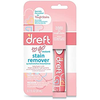 Dreft Baby Laundry Instant Stain Remover Pen, 0.7 Fluid Ounce (Pack of 1 Travel
