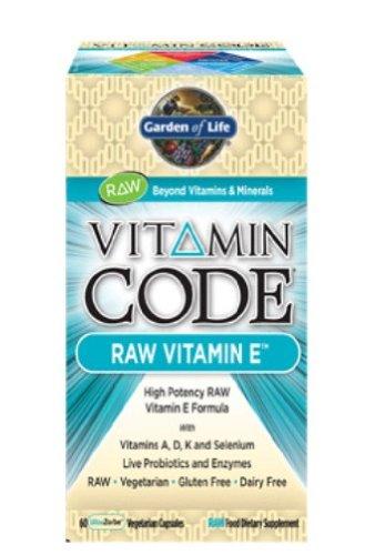 Garden of Life Vitamin Code? - Raw vitamine E, 60 Count