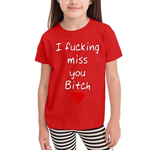 Marcus Roberta I Fucking Miss You Bitch Kids T-Shirt Unisex Classic T-Shirt Red 2T
