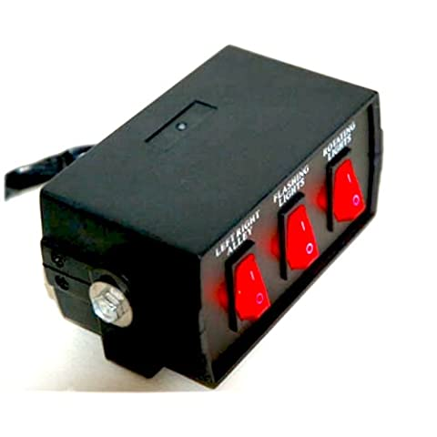 3 Function Switch Box with Light (3 Function Light Switch)