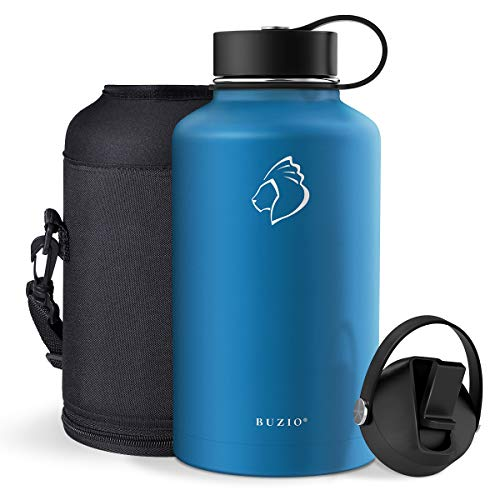 BUZIO Vacuum Insulated Stainless Steel Water Bottle (Cold for 48