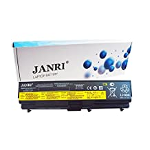 JANRI Replacement 42T4751 42T4791 A36303 notebook laptop battery pack for Lenovo ThinkPad T410 T420 T510 T520 SL510 E40 E50 0578 E420 E525 L410 L412 L420 L421 Sl410 W510 W520 Sl410k T410i T510i E420 E520 E425 L512 L520 51J0499 42T4799 42T4763 42T4795 42T4793 42T4755 42T4756 42T4757 42T4758 42T4763 42T4764 42T4791 42T4702