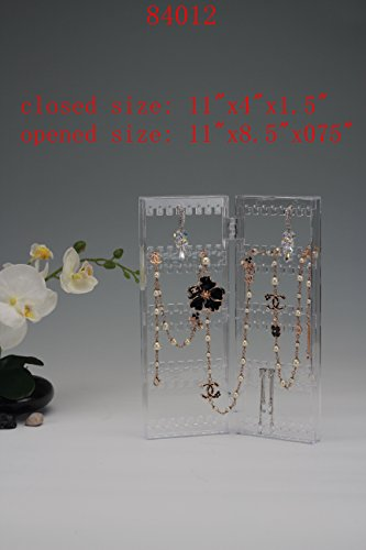 Beauty Acrylic jewelry Organizer Luxury jewelry Acrylic Clear Storage Insert Holder