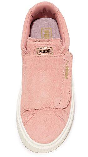 PUMA Suede Wn Brown Strap cameo Cameo marshmallow Brown Women's Sneaker Platform rgqxwWpg51
