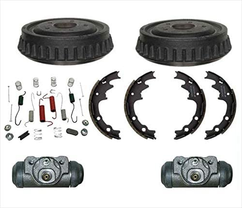 Note: w// 9 Brakes with 2 Years Manufacturer Warranty Both Left and Right 1998 For Ford Ranger Rear Drum Brake Shoes Set