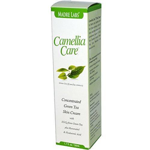 Home Care Labs (Madre Labs, Camellia Care, EGCG Green Tea Skin Cream, 1.7 fl oz (50 ml) - 2pc)