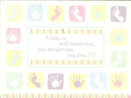 (A Baby Is Soft Sweetness, Tiny Tenderness and Love. 20 Count Announcements with Envelopes)