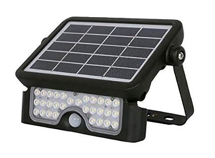 Proyector Foco Led Solar con Sensor de Presencia y Crepuscular 5W ...