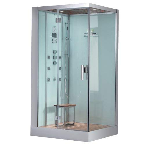 Buy Discount ARIEL Platinum DZ959F8-W-L White Steam Shower
