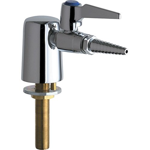 Chicago Faucets 980-VR909CAGCP Universal Vandal Resistant Turret with Single Ball Valve