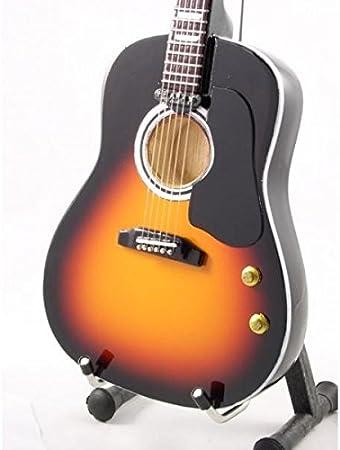 Guitarra Miniatura Réplica - Acústicas Sunburnst por John Lennon ...