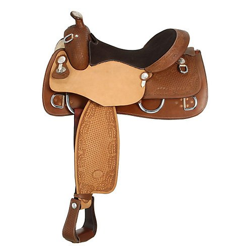 (Royal King Shelby Trainer Saddle 16.5)