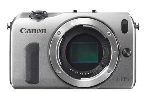 (Canon EOS M Compact System Camera - Body Only (Silver))