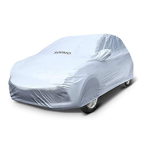 Amazon Brand – Solimo Hyundai Grand i10 UV Protection & Dustproof Car Cover (Silver)