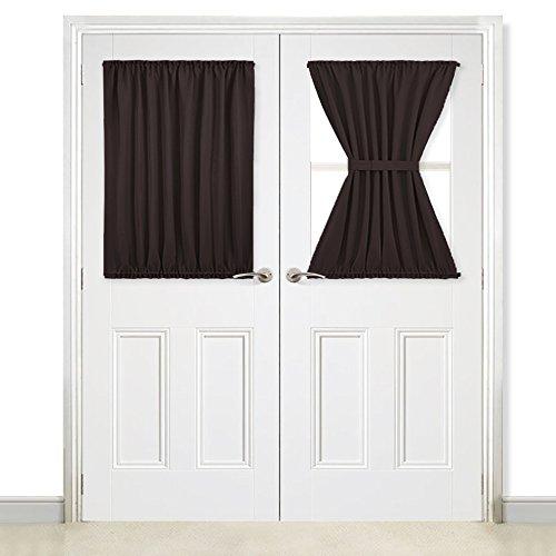brown door curtain panel - 7