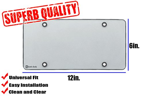Crystal license plate frames