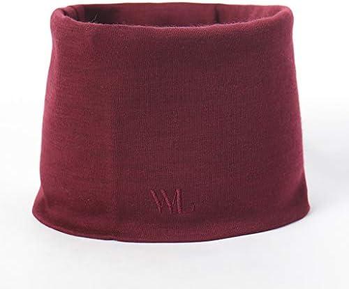 Wolle Baby Schal Herbst und Winter warme Kopfbedeckung Männer und Frauen Kinder Halstuch dünn (Farbe : Weinrot)