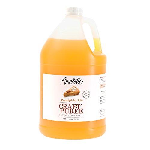 Amoretti Puree Craft, Pumpkin Pie, 9 Pound (Best Pumpkin Pie Beer)
