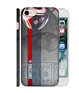 ColorKing Football England 14 Grey shell case cover for Apple iphone 7