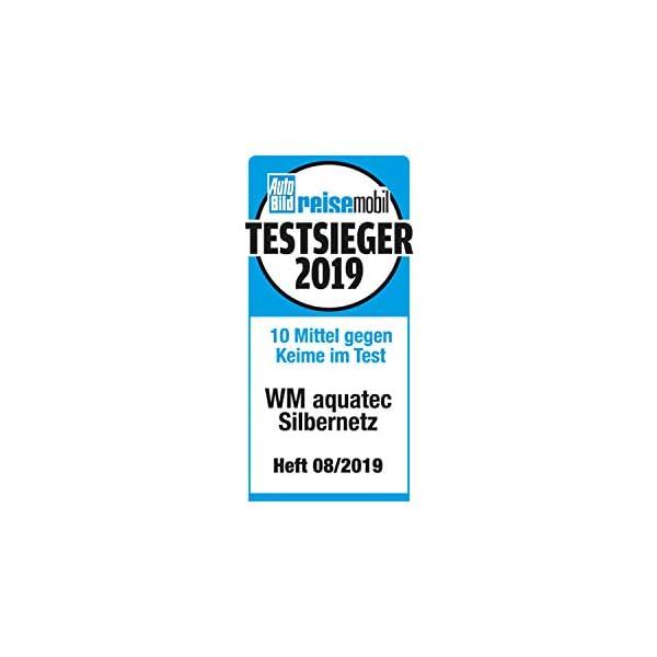 41CIuAshX2L WM aquatec Silbernetz zur autom. Wasserkonservierung für Frischwassertanks bis 50 Liter & Caramba 619902 Silikon Spray…