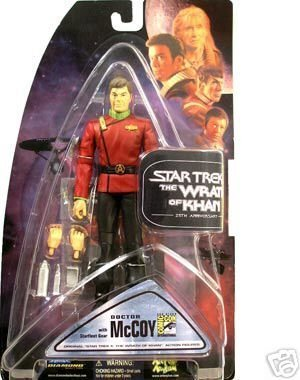 (Star Trek II: The Wrath of Khan 25th Anniversary SDCC 2007 Exclusive Dr. McCoy Action Figure )