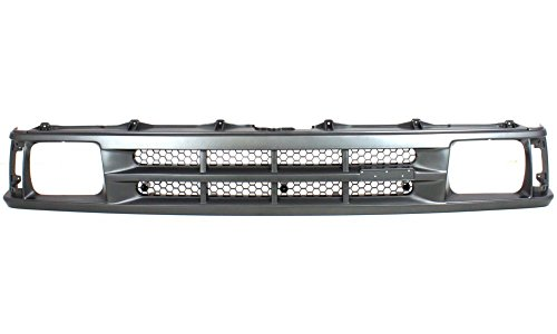 Evan-Fischer EVA1777209787 Grille for Mazda Pickup 86-89 Painted-Gray B2000 Model Replaces Partslink# MA1200119