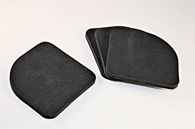 4 Piece Anti Vibration Pad - Closed Cell Foam Rubber Acoustic Damper