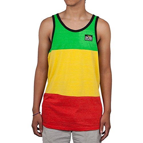Bob Marley - Rasta Stripe Tank Top