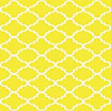 "Maxy Home Hamam Moraccan Trellis Yellow 18"" x"