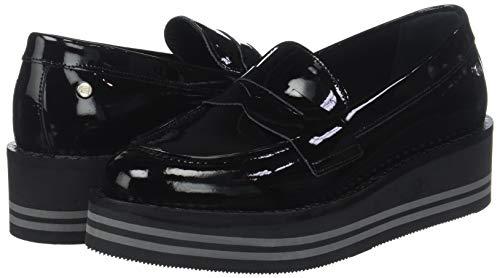 Modern Black Women''s 990 black Loafer Flatform Hilfiger Tommy Fax4w