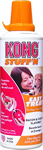 KONG 8-Ounce StuffN Easy Bacon and Cheese Treat for Dogs
