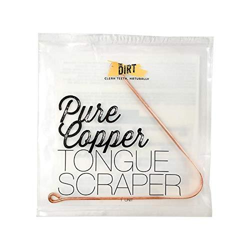 - The Dirt All Natural Anti-Microbial Copper Tongue Scraper
