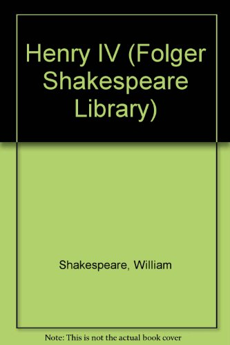 Henry IV Part 1 (Folger Shakespeare Library)